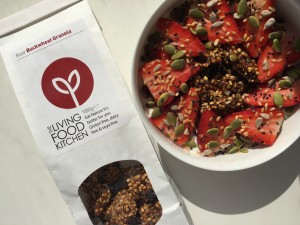The Living Food Kitchen raw buckwheat granola