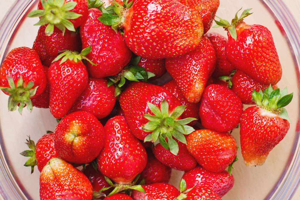 Berries, strawberries