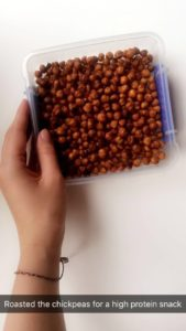 Roasted Chickpeas - notetoiris
