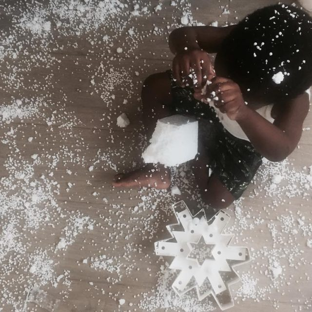 But aunty Iris its snowing!  summertime funtimes kidsandpackaging family