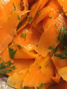 Carrot 'Smoked Salmon' Lox by notetoiris