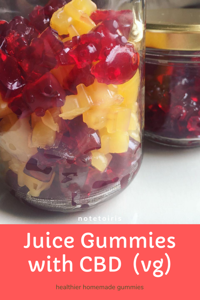 CBD gummies recipe by notetoiris