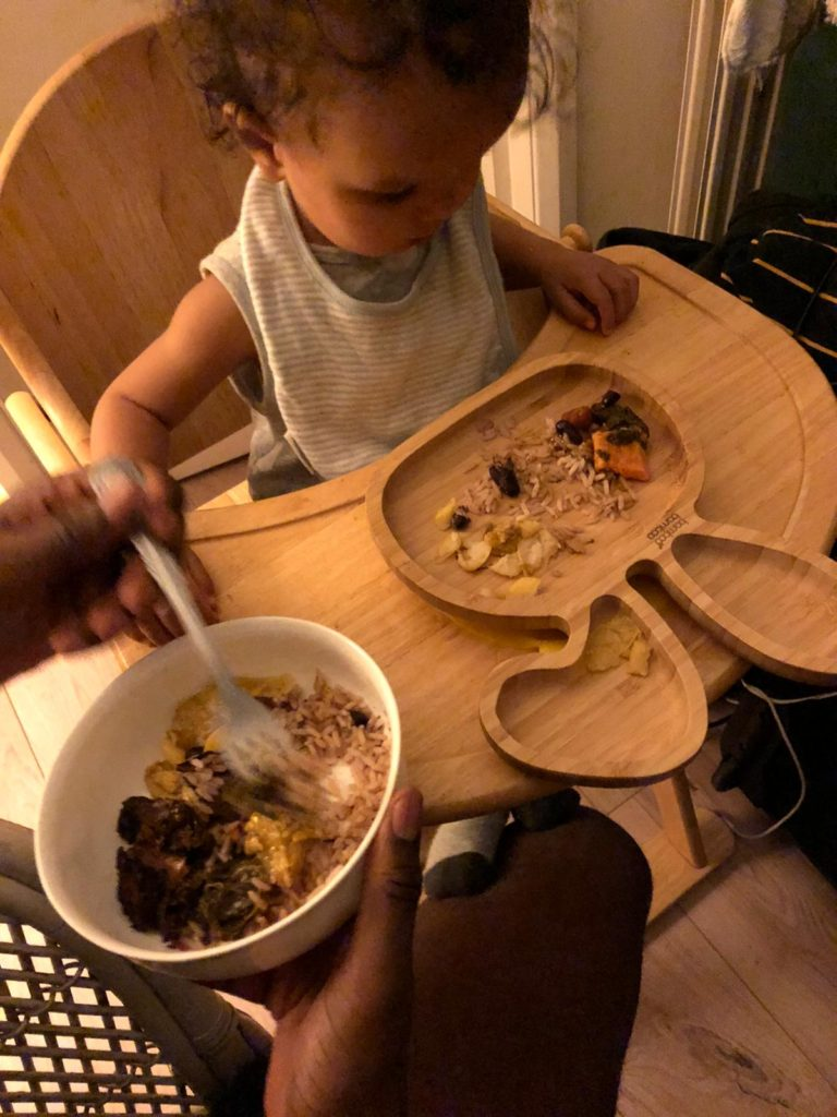 Nza Caribbean toddler food