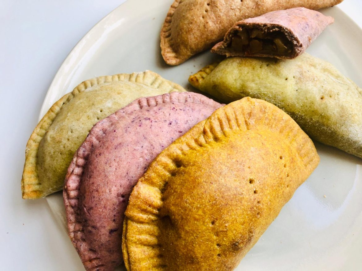 Colourful Caribbean Style Patties recipe by Jay Brave + notetoiris