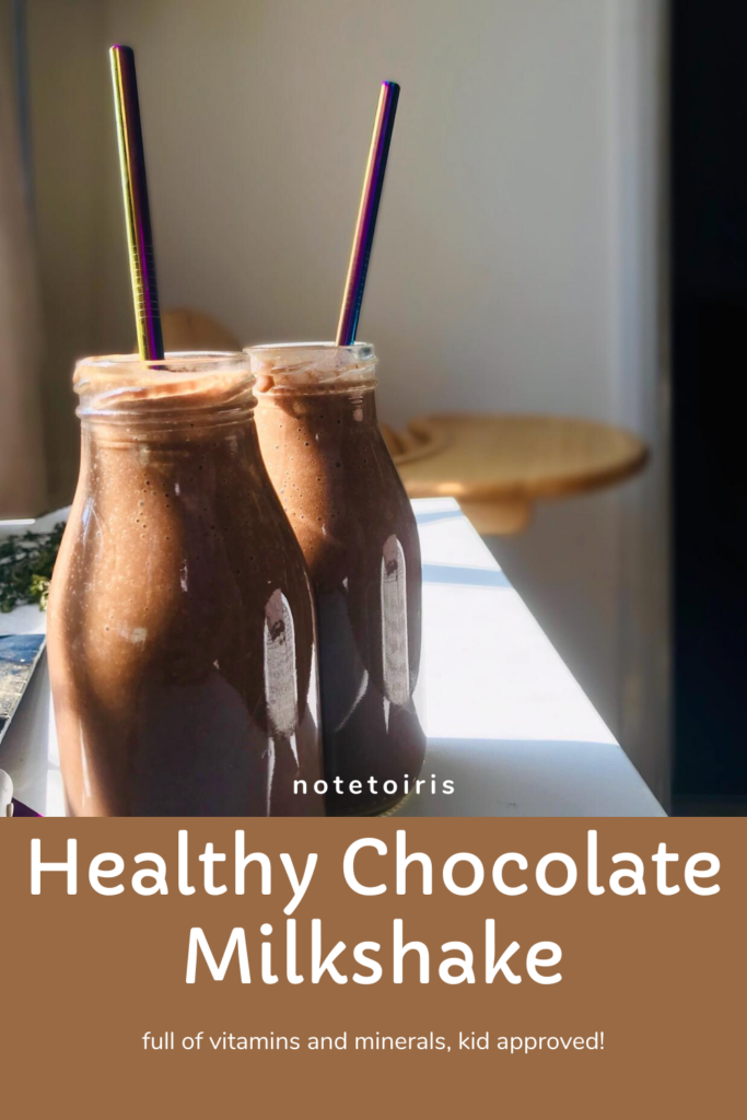 Chocolate Milkshake recipe notetoiris
